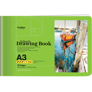 ProMate A3 Drawing Book 20P