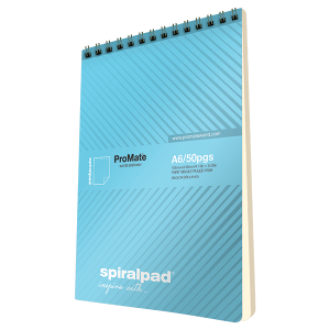 ProMate A6 Flip-up Spiral Pad 50Pgs