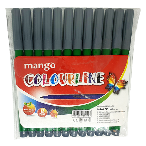 Colour Line - Green 12 Pack