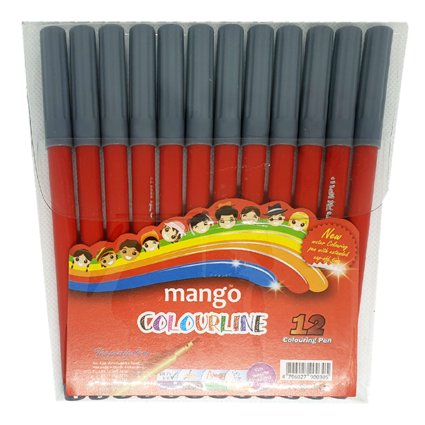 Colour Line - Red 12 Pack