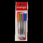 Multi Colour 5 Pens Pouch