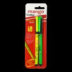 Text Lighter - Yellow & Green (Blister Pack)