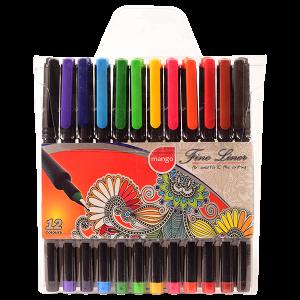 Fine Liner - 12 Colour Wallet