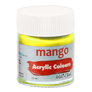 Acrylic Colour - Lemon Yellow