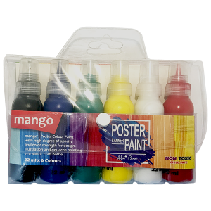 Poster Paint 6 Colours Pack