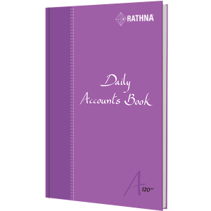 Rathna Daily Accounts Book A5 120P