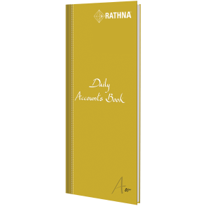 Rathna Daily Accounts Book 31 Rules