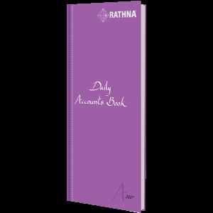 Rathna Daily Accounts Book A4 Long 200P