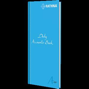 Rathna Daily Accounts Book A4 Long 120P