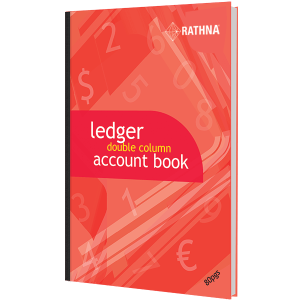 Rathna A4 Ledger Double-Column Accounts Book