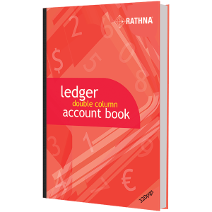 Rathna Ledger Double Column Accounts Book 320P