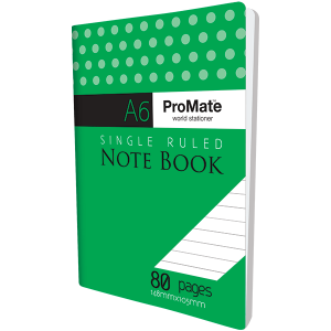ProMate A6 Notebook 80Pgs