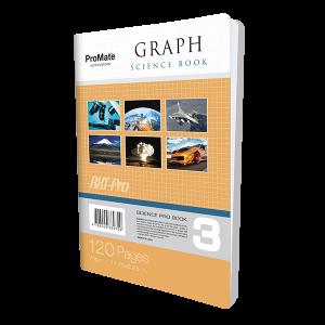 ProMate CR 120Pgs Graph Book