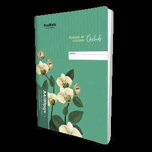 ProMate CR 80Pgs Single Ruled Book