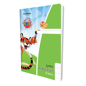 ProMate EX Double Ruled Quarter Inch Book 80Pgs