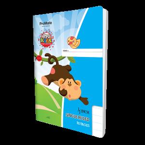 ProMate EX Single Ruled Half Inch Book 80Pgs