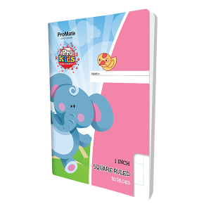 ProMate EX Square Ruled One Inch Book 80Pgs