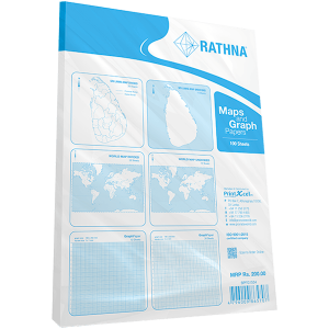 Rathna Maps & Graph Six in One Pack - 100 Sheets
