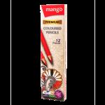 Mango Color Pencil 12 Colors Pack