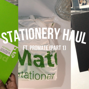 ProMate Stationery Ft.  Study With Island Girl