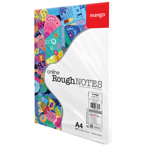Mango Online RoughNOTES A4 100S Pack